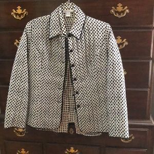 💯% Pure Silk Dress Jacket/Quilted Style